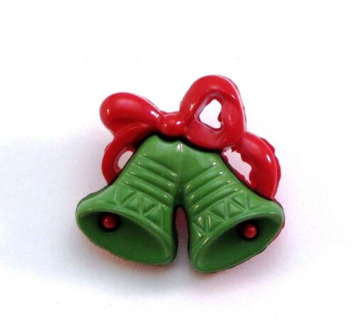 21mm Christmas Jingle Bell Novelty Buttons for Sewing Crafting Quilting 13//16/""