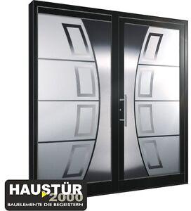 aluminium haust r ganzglasf llung alu haust ren nach ma mod ht 5457 gla ebay. Black Bedroom Furniture Sets. Home Design Ideas