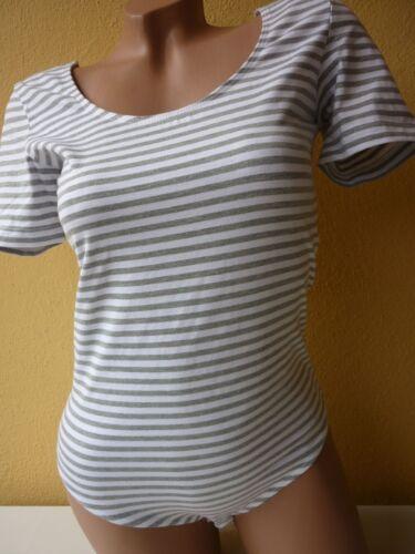 Cheer Shirt Body graumel-weiß 42 Göße 38 C30