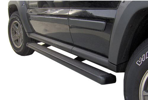 2013 Ford F150 F-150 Super Crew Cab (New Body) Black Running Step Boards