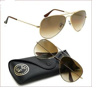 Ray-Ban RB3025 Sonnenbrille Gold 001/51 58mm eHGMvv