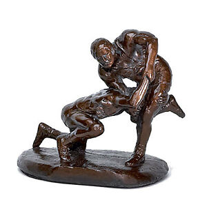Wrestling-trophies-sculptures-awards-sculpture-statues