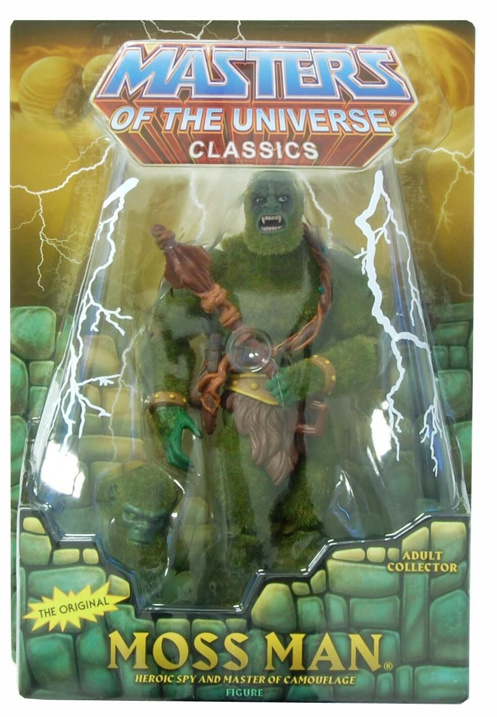 Mattel HeMan Masters of the the the Universe Moss Man Action Figure 1ab5c4
