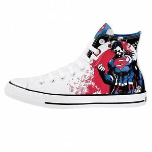2cd640cac0ac NEW CONVERSE ALL STAR CHUCK TAYLOR DC COMICS - SUPERMAN BATMAN SHOES ...