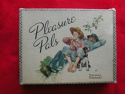Vintage Norman ROCKWELL Playing Cards Two Decks PLEASURE PALS Reis Morgan Lumber