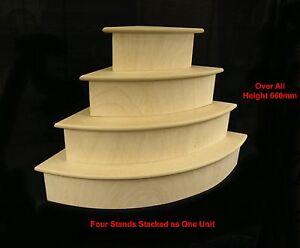 Four-Tier-Quadrant-Display-Stand-Merchandise-Market-Craft