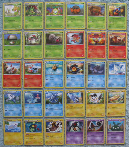 Pokemon TCG B/&W Noble Victories Common /& Uncommon Card Selection Part 1//2