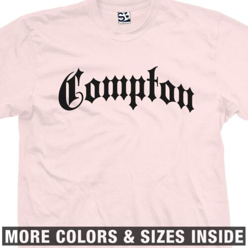 All Size Colors Old English Style NWA Straight Outta Compton Gothic T-Shirt