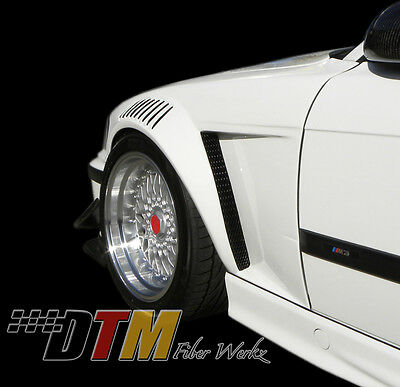 BMW E36 92-99 GTR-S Style Vented Wide Body Front Fenders For 2 Dr. Only