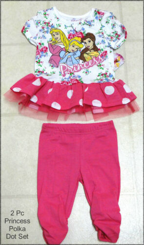 Girls Disney Summer Outfits-NWT