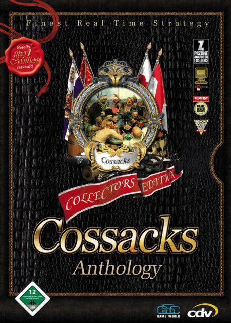 Cossacks : Anthology - Collectors Edition - PC - in DVD Hülle mit den 3 Spielen