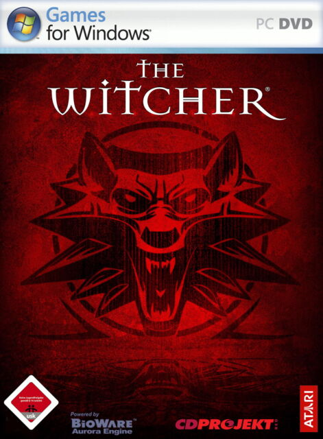 The Witcher (PC, 2007, DVD-Box)