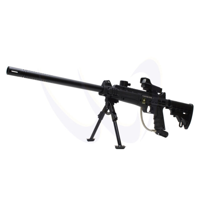 "Tippmann US Army Carver One Paintball Gun w/ Red Dot Bipod Stock 18"" 7202"