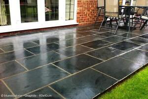 image is loading slate paving patio amp garden tiles not slabs - Garden Tiles