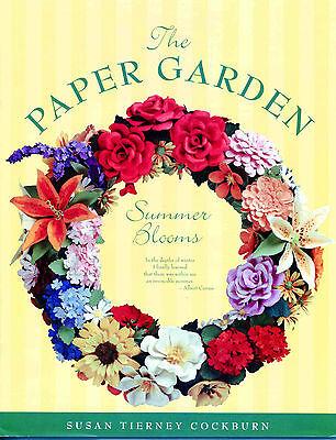 Floral Punch Art Book Create Amazing Paper Flowers - Paper Garden-Summer Blooms