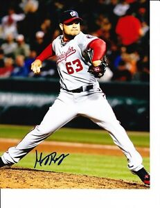WASHINGTON-NATIONALS-HENRY-RODRIGUEZ-SIGNED-8X10