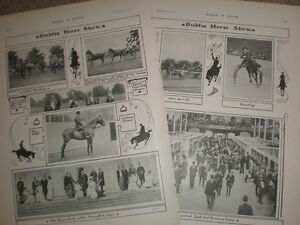 Printed-photos-The-Dublin-Horse-Show-Ireland-1903