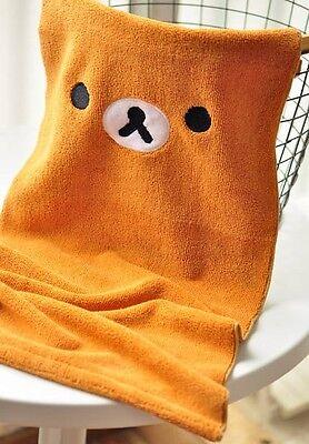 Rilakkuma San-X Relax Bear Cute Soft Wash Hand Face Towels 1set/2pcs
