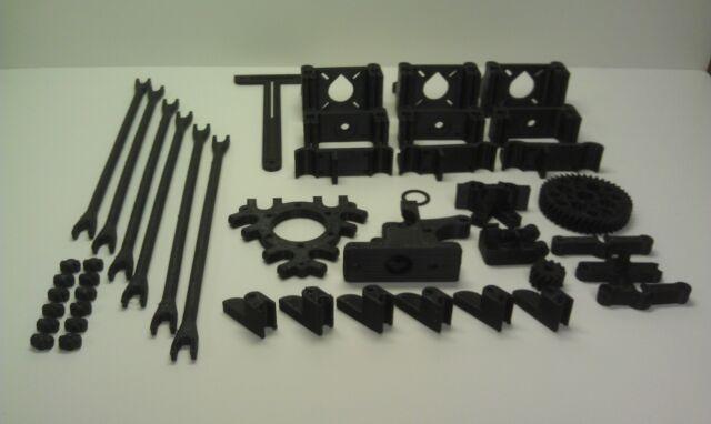 Rostock RepRap 3d Printer, Printed Parts