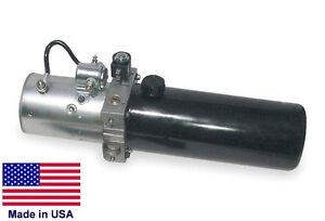 HYDRAULIC-POWER-UNIT-24-Volt-DC-3-5-GPM-Sgl-Acting