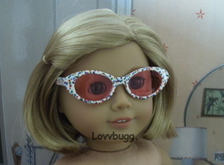 """Lovvbugg Stars Sun Glasses for 18"""" American Girl Doll Accessory"""