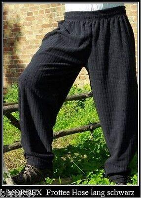schwarze Pumperhose Fitnesshose Sporthose Freizeit Fleecehose MORDEX