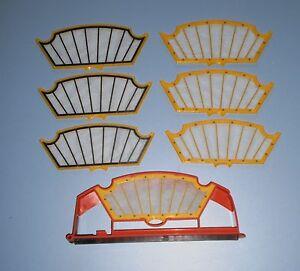 Compartiment-filtre-et-6-filtres-pour-Roomba-Serie-500