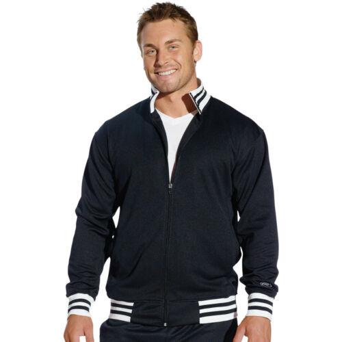 Rawlings Mens XL 2X 3XL 4XL 5XL Athletic Tricot Soccer Sport Warmup TRACK Jacket