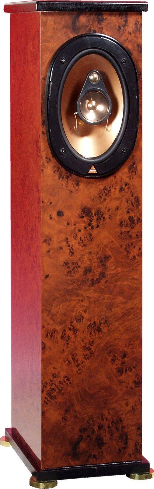 Resolution SUHTL Loudspeakers - Mahogany + Digital Reference Adjustment System