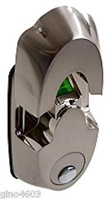 High Security Satin Nickel Fingerprint Deadbolt Door Lock Keyless Electronic NX3