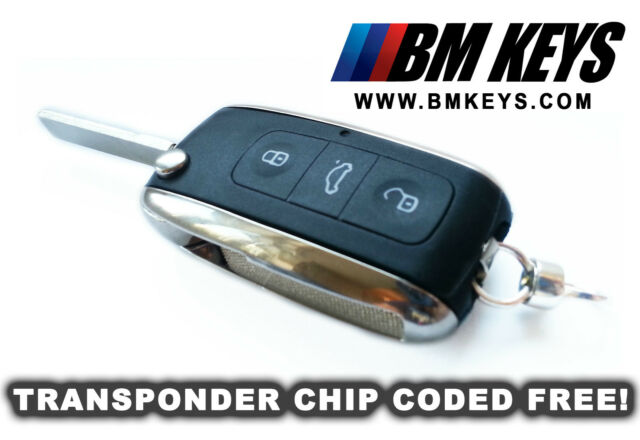 BMW BLANK FLIP KEY REMOTE FOB E46 E39 X5 X3 M3 M5 VIRGIN TRANSPONDER CODED FREE