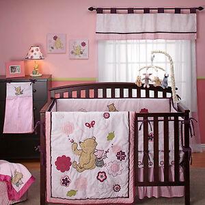 Pooh Dandelion Dreamer 4 Pc Crib Bedding Set