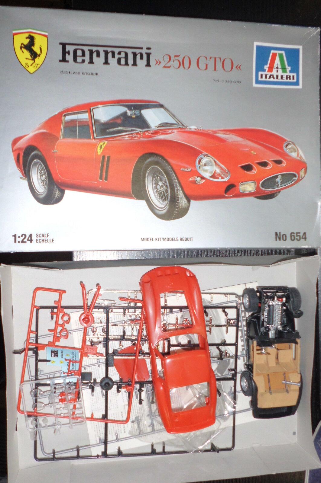 ITALERI FERRARI 250 GTO 124 modellololo modellololo di auto modellololo kit auto No 654