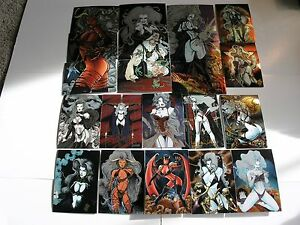 Lady-Death-2-100-Card-Chromium-Set-by-Krome-1995