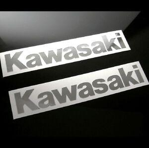 2-Mirror-Chrome-Universal-Kawasaki-Decals-Stickers