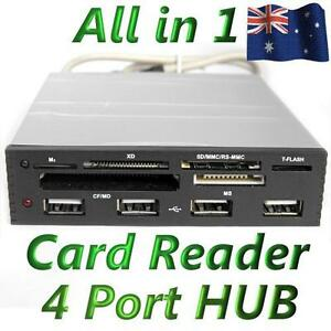 3-5-034-Front-Panel-All-in-One-Internal-TF-SD-Card-Reader-Writer-4-Port-USB-2-0-Hub