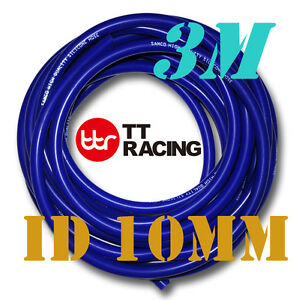 Silicone-10mm-Vacuum-Tube-Hose-Tubing-Radiator-Breather-Air-Pipe-3-meters-10ft