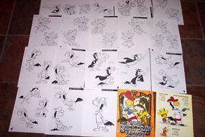 Quick Draw Mcgraw Licensing Guide Art Hanna Barbera Artist
