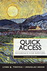 Quick Access: Reference for Writers by Doug D. Hesse, Lynn Quitman Troyka (Spiral bound, 2012)