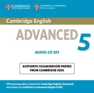 cambridge english advanced  CAE Cambridge English ADVANCED 5 Audio CD Set ESOL Examination @NEW ...