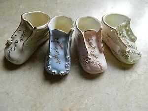 Personalized Traditional Ceramic Baby Shoe Keepsake   eBay