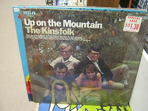 THE-KINSFOLK-Up-On-The-Mountain-vinyl-LP-1969-RCA-Records-IN-Shrink