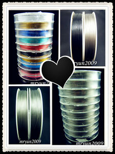 DIY-jewelry-Mixed-colors-black-gray-Thread-tiger-tail-beading-wire-0-38MM