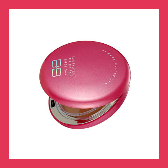 SKIN79 Hot Pink Sun Protect Beblesh Pact SPF30 PA++ 15g, Tracking #