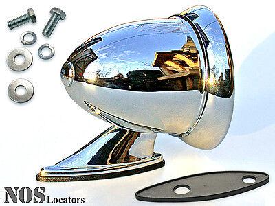 Classic Chrome Bullet style sport Mirror New MG, Cobra