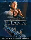 Titanic (Blu-ray/DVD, 2012, 4-Disc Set, Includes Digital Copy)