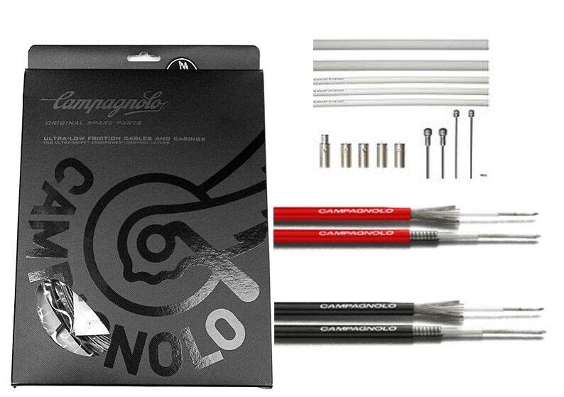 Campagnolo Ergopower Ultra Shift Kabel Set, Zug Set, Schaltzüge, div. Farben