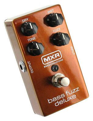 dunlop mxr bass deluxe m84 distortion guitar effect pedal for sale online ebay. Black Bedroom Furniture Sets. Home Design Ideas