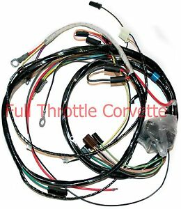 1970 dart wiring harness diagram 1971 corvette engine wiring harness manual trans.new | ebay 1970 corvette wiring harness