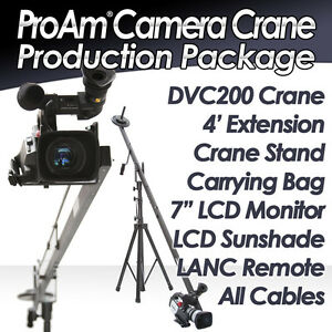 ProAm-12ft-8ft-DVC250-Camera-Crane-Jib-Production-Package-Full-Kit-with-LCD
